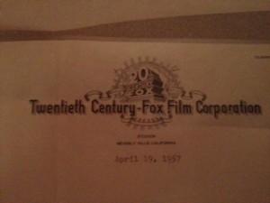 20th Cen Fox